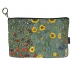 Kosmetická taštička Klimt - Zahrada