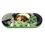 Pouzdro na brýle Lempicka - Dáma s rukavicemi