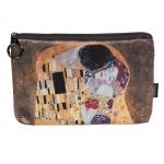 Kosmetická taštička Klimt - Polibek