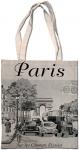 Taška bavlněná Paris Champs Elysees