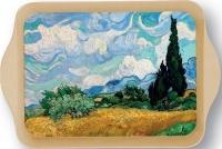 Tác Van Gogh - Pole s cypřiši 14*21 cm