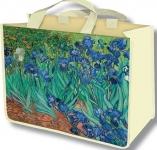 Taška nákupní Van Gogh - Kosatce - velká