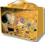 Taška nákupní Klimt - Polibek
