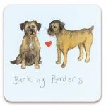 Podložka Barking borders 10*10 cm
