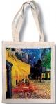 Taška bavlněná barevná - Van Gogh - Kavárna