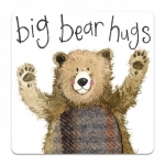 Podložka Big bear hugs 10*10 cm