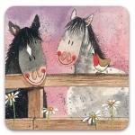 Podložka Horse whispers 10*10 cm