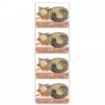 Záložka magnetická Cat and bow