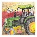 Obrázek Green tractor