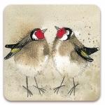 Podložka Goldfinches 10*10 cm