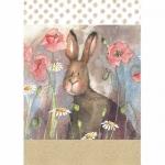 Utěrka Hare & poppies - 45*65 cm