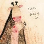 Přání k narození dítěte - Jolly tall baby
