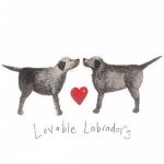 Přání Lovable labradors