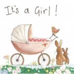 Přání k narození dítěte - Baby girl
