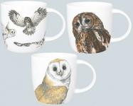 Owl hrnek 0,38 l - 3 ks