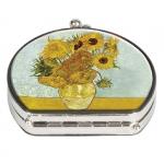 Zrcátko kapesní duo Van Gogh - Slunečnice