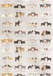 Utěrka Delightful dogs - 45*65 cm