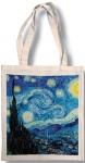 Taška bavlněná barevná - Van Gogh - Hvězdná obloha