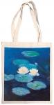 Taška bavlněná barevná - Monet - Lekníny