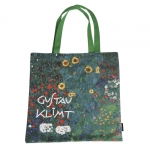 Taška plochá Klimt - Zahrada