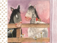 Prostírání korkové Horse whispers, 29*21,5 cm