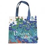 Taška plochá van Gogh - Kosatce