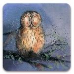 Podložka Night owl 10*10 cm