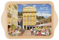 Tác Nice - květinový trh, 14*21 cm