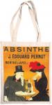 Taška bavlněná barevná - Absinthe
