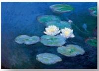 Magnetka Monet - Lekníny