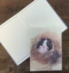 Notýsek Hamster, 9*12 cm