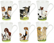 Dog collection hrnek 0,4 l - 6 ks
