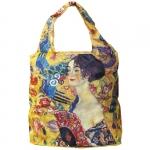 Skládací taška Klimt - Dáma s vějířem