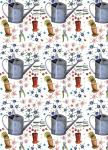 Balicí papír set 2+2 - Watering can