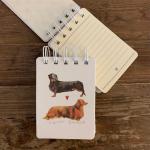 Bloček spirálový Debonair dachshund, A7