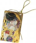 Jmenovky k dárkům - Klimt - Polibek