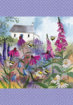 Utěrka Bee garden - 45*65 cm