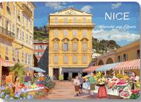 Prostírání Nice - květinový trh, 42*29 cm
