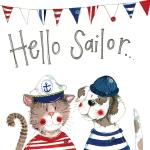 Přání Hello Sailor