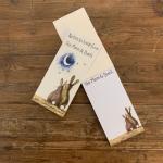 Poznámkový blok nákupní Moon Rabbit, 23*10 cm