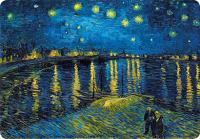 Magnetka Van Gogh - Hvězdná noc nad Rhonou