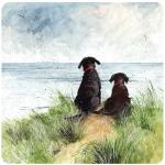 Podložka Dunes & dogs, 10*10 cm