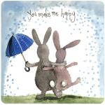 Podložka Rain & Sunshine, 10*10 cm