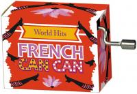 Hrací strojek Hity - Francouzský kankán
