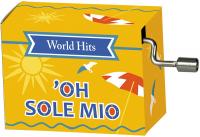 Hrací strojek Hity - O Sole Mio