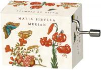 Hrací strojek M. S. Merian - Watlz of flowers
