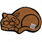 Rohožka Cat, hnědá, 40*60 cm