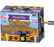 Hrací strojek The Beatles - Yellow Submarine
