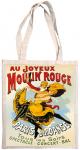 Taška bavlněná barevná - Moulin Rouge