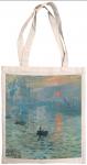 Taška bavlněná barevná - Monet - Východ slunce